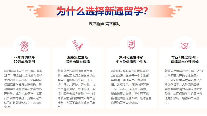 重庆新通留学展