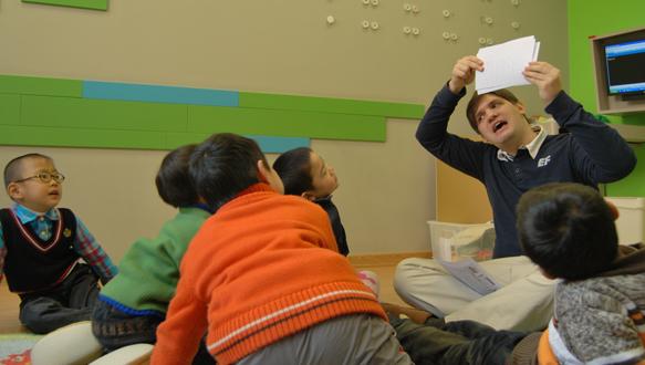 佛山英孚少儿—Small Stars幼儿英语培训(适合3~6岁)