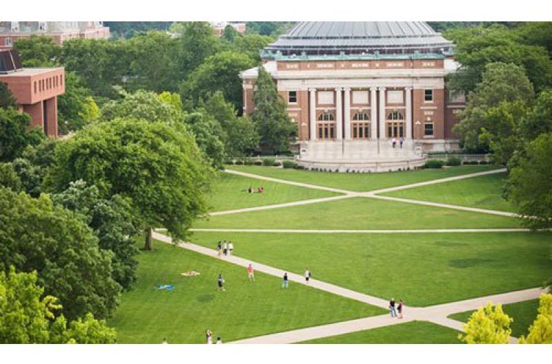 美国伊利诺伊大学芝加哥分校校园风景