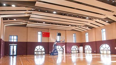 学校篮球馆