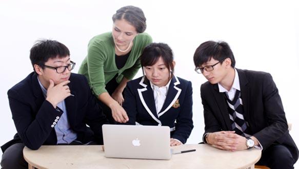 重庆纯欧美浸泡式外教口语课程
